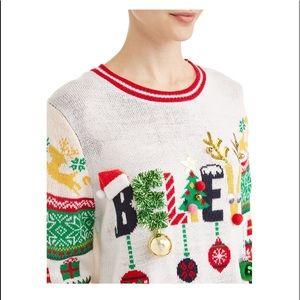 NWT Juniors Ugly Sweater sz XL (14-16)